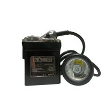 Linterna frontal LED para minería / lámpara de tapa