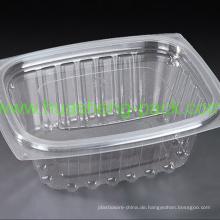 Food Grade PET-Einweg-Salatbox aus klarem Kunststoff