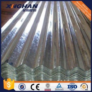 Materiales de construcción chapa de acero galvanizado / placa