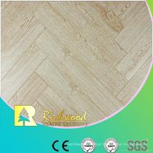 Commercial 8.3mm AC3 Embossed Oak V-Grooved Laminate Flooring