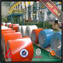 Bobine en acier galvanisé en prépaint laminé à froid de qualité supérieure en stock Fourniture en Chine