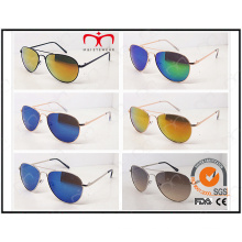 Las últimas gafas de sol unisex del metal del diseño de moda (J1079)