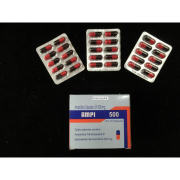 China OEM for β-lactam Antibiotics Ampicillin Capsule BP 250MG supply to Costa Rica Manufacturer