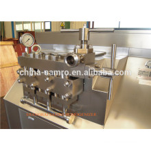 Processing Line Type UHT Plant 2 stages dairy homogenizer