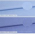 Telas 100% de la camisa de vestir de los hombres de la tela de algodón del dobby que arropan