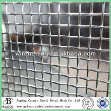 woven mesh 3x3 stainless steel crimped wire mesh (factory)