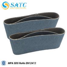Ceinture de papier abrasive de papier abrasif de ceintures de ponçage pour le polissage 10 PACK