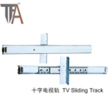 Furniture Fitting TV Slide Soft Closing Under Mounted Slider Buffer