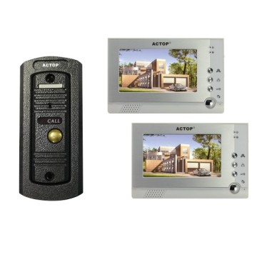 Sistem Video Home Intercom Berkabel