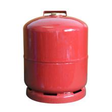 Cylindre de gaz de LPG et réservoir de gaz en acier (AS-LPG-3KGD)