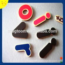 High quality letter/number fridge magnets custom wooden fridge magnets