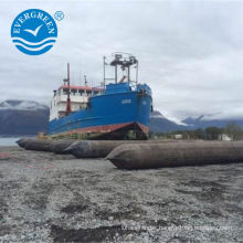 launching and marine lifting airbag salvage for ship repair