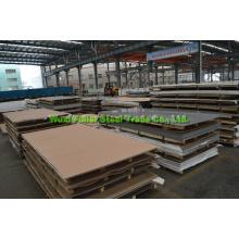 ASTM, En, BS, GB, DIN, JIS Folha / Placas de aço inoxidável padrão