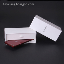 New Design White Cardboard iPhone Protect Box Packaging