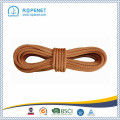 Corde d'escalade en polyester orange en nylon 66