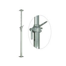 Poteau d'appui vertical en acier renforcé