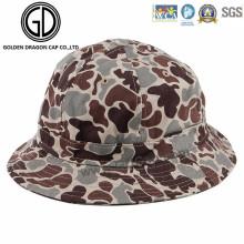 New Fashion Cool Green Camo Cotton Bucket Hat