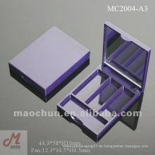 MC2004-A3 Kleiner 3-Pfannen-Augenschminke-Etui