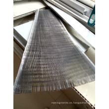 Nido de abeja de aluminio de 18 mm de altura para paneles compuestos