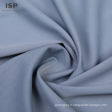 tissu en polyester doux teint en sergé