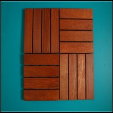 Prime Kempas Outdoor Decking Tiles
