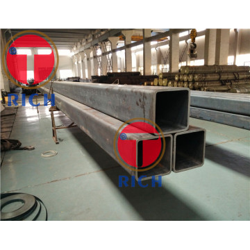 ASTM A847 Cold Drawn Seamless Low Alloy Square / Rectangular Structural Pipes
