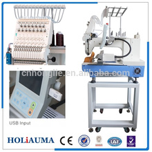 HOLIAUMA 15 needle single head garment embroidery machine same juki embroidery machines