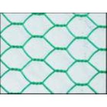 Sechseckiger Maschendraht PVC beschichtet