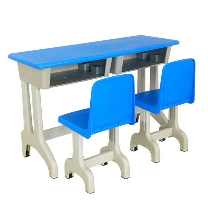 Kindergarten Child Educational Furniture Set bord och stol justerbar KG Desk