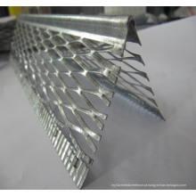 Bloco de ângulo de parede de PVC em PVC de plástico / Grão de canto / Ângulo de canto
