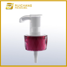 Cosmetic lotion pump dispenser