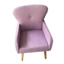 Lilac single person sofa