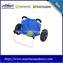 dark blue heavy duty kayak trolley with 80kgs loading capacity
