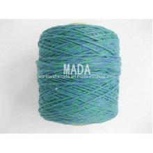 Gute Qualität Grünes Baumwollmopp-Garn