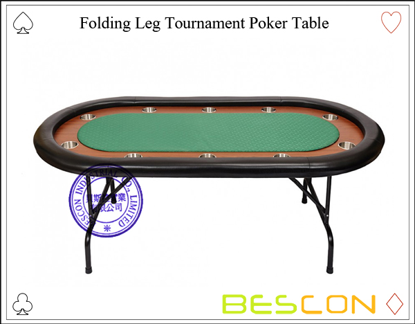 Folding Leg Tournament Poker Table-2