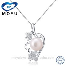 925 silver mother of pearl jewellery set