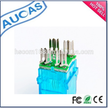china wholesale new design rj45 connector / network keystone jack / modular plug / 8p8c punchdown jack /fiber optic adaptor