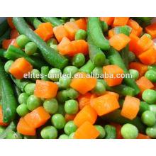 Venta caliente IQF vegetales mezclados