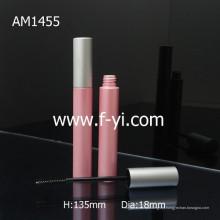 Cute Pink Round Atacado Vazio Alumínio Mascara Tube