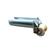 Bouche à cloche robuste avec rouleau