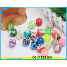 2016 Hot Sell Various Design High Rubber Cute Eyes Shape Bounce Ball Toy for Gift