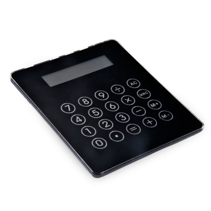 Touch pantalla calculadora con interfaz USB 4 y lámpara