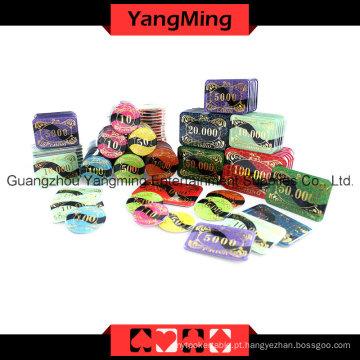 Chip High-Grade Set760PCS do póquer do corvo (YM-TZCP0019)