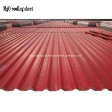 Feuilles de toiture MGO anti-UV