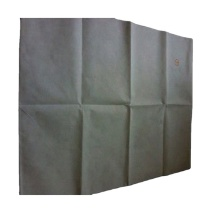 White Folding Airline Non Woven For Carry Bag