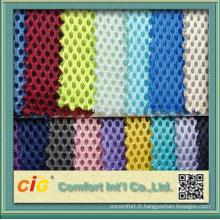 Tissu chinois de maille d'utilisation de chaussure de polyester