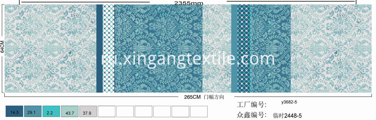 XINGANG BEDDING FABRIC (144)