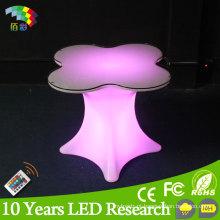 Ilumine acima a mobília do banquete da tabela do diodo emissor de luz de Colourfurl para o evento