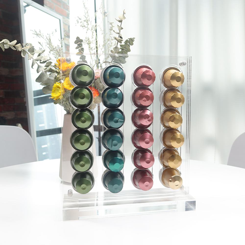48 Capacity Acrylic Storage Coffee Pod Holder
