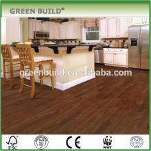 2017High quality dark color elm engineered wood flooring